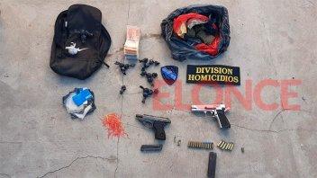 Secuestraron drogas, armas y cartuchería por el intento de homicidio de un joven