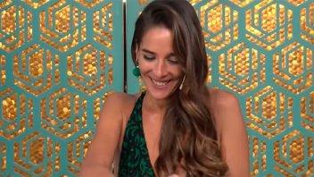 Juana Viale dio a conocer una intimidad hot en medio del programa