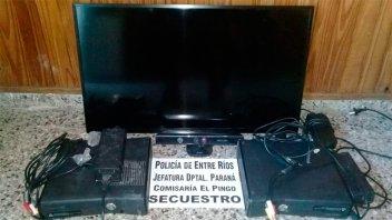 Recuperan $100.000 en equipamiento robado a un municipio