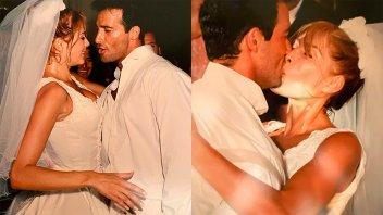 Fulop y Ova Sabatini cumplieron 22 años de casados: Fotos inéditas de la boda