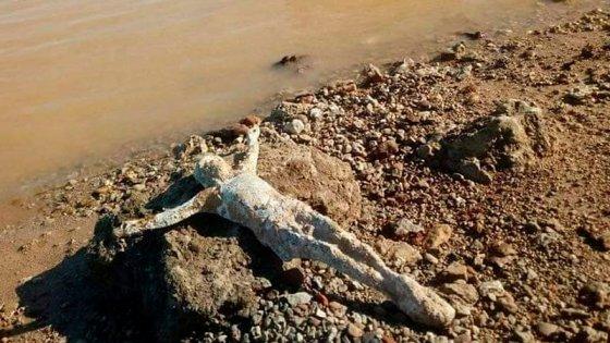 Cristo hallado en la costa:Detalles del descubrimiento y el destino de la imagen