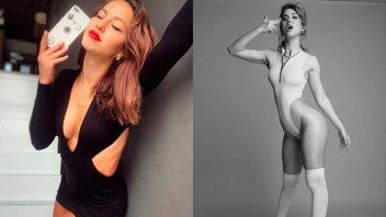 Flor Vigna mostró su costado más sexy para anunciar qué hará tras la cuarentena