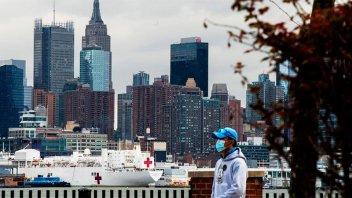 Covid 19: En Nueva York ya murieron más personas que en el atentado del 11-S