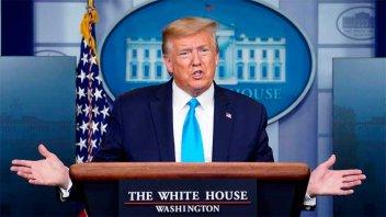 Trump asegura que está listo para seguir con la campaña electoral: