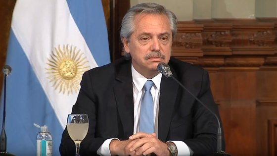 Fernández definió que la cuarentena obligatoria seguirá hasta el 3 de mayo
