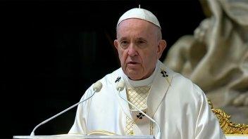 Misa por Jueves Santo: El Papa recordó a los sacerdotes muertos por el covid-19