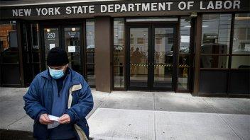 En EE.UU, los pedidos de ayuda por desempleo se disparan a 6,6 millones
