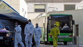 España, con menos muertes por coronavirus: Registró 605 en un día