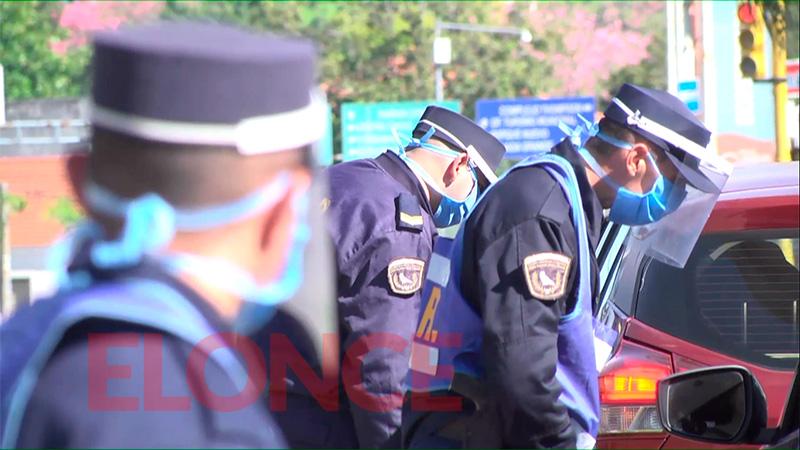 Vacunación del personal policial: detallaron cuándo se comenzará en el interior