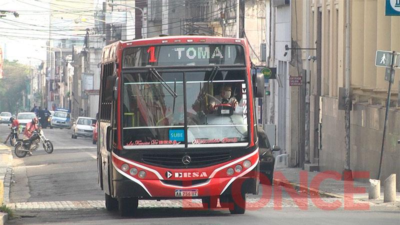 Se reanuda el servicio de colectivos este miércoles en Paraná