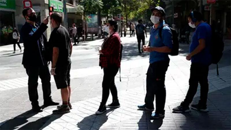 Chile tiene récord de contagios en un día — Coronavirus