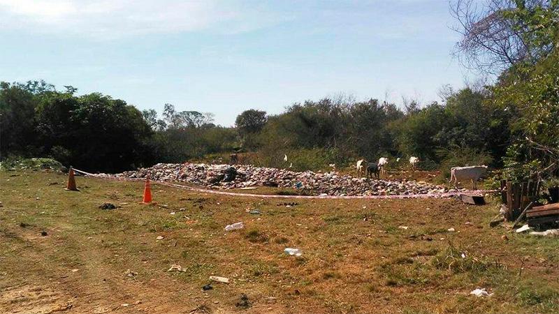 Hallan muerta a una recién nacida en un basural  en la provincia de Corrientes