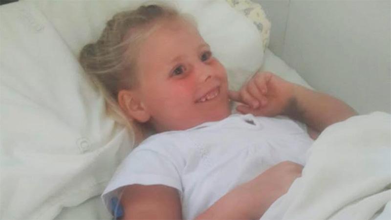 Así estaba Sofía el miércoles en el hospital