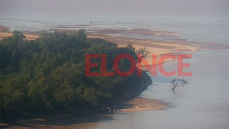 El río Paraná volvió a crecer: Repuntó 15 centímetros en un día