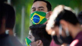 Brasil superó el millón de casos de coronavirus