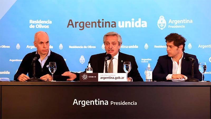 Cómo se prepararon los anuncios: Alberto Fernández, de la Cuarentena al canje de deuda