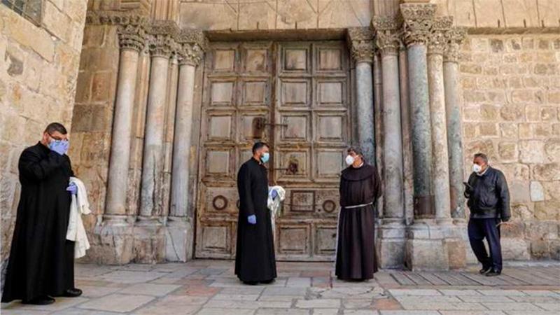 El Santo Sepulcro de Jerusalén abrirá el domingo tras dos meses cerrado