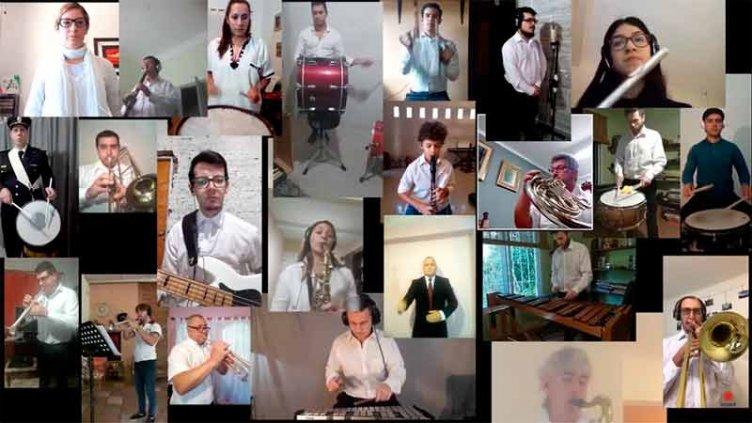 Video: El Himno Nacional, por integrantes de la Escuela de Arte en Música