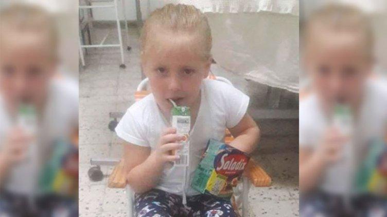 La niña que había sido atropellada por un tractor fue dada de alta