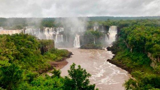 Las Cataratas del Iguazú recuperaran su belleza, tras una sequía casi histórica