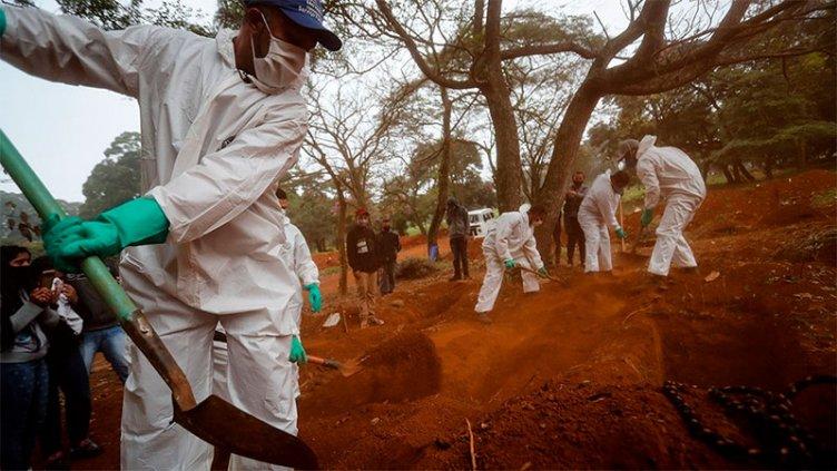 Brasil reportó 1.039 nuevas muertes por coronavirus y el total supera las 24.500