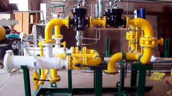 Continúan los trabajos de gas natural en Victoria