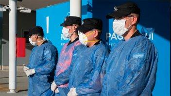 Oficiales de la PSA recuperados de Covid-19 donarán plasma