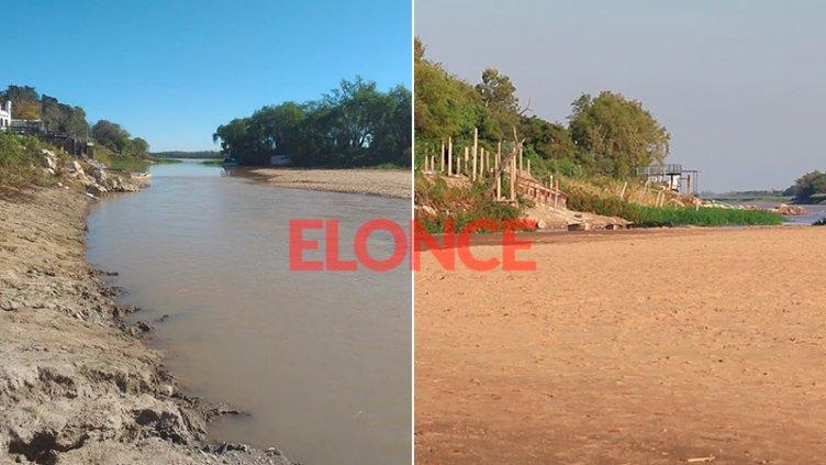 Leve repunte del río: Video muestra cómo cambió