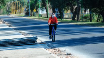 Pueblo Belgrano adhirió al Decreto y habilitó actividades de running y ciclismo
