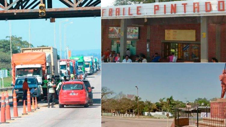 Jujuy cierra dos localidades por el camionero con Covid que estuvo en Entre Ríos