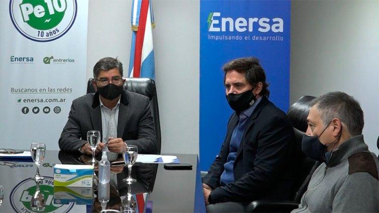 La Asociación Entrerriana de Televisión y Enersa firmaron un acuerdo