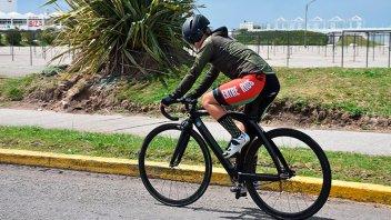 Práctica de deporte: Piden que los ciclistas utilicen elementos de seguridad