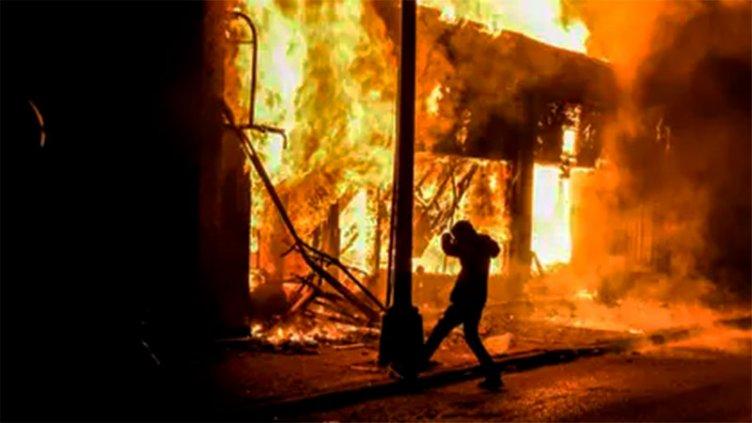 Violentos disturbios en Estados Unidos por el asesinato de George Floyd