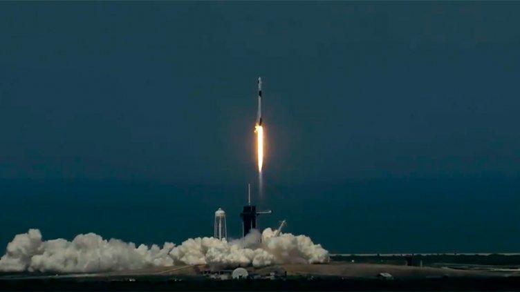La nave de SpaceX fue lanzada rumbo a la Estación Espacial Internacional