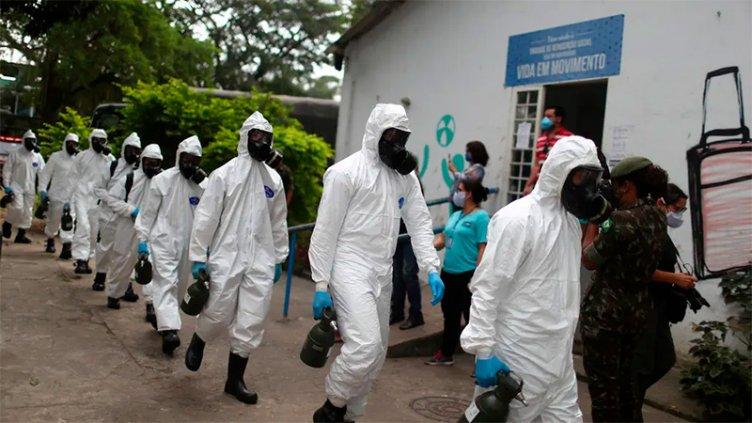 Brasil es el cuarto país con mayor cantidad de fallecidos por coronavirus