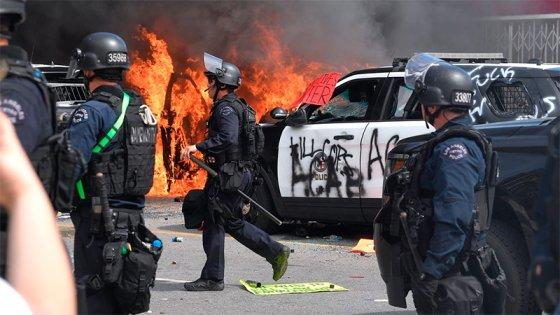 Protestas por crimen de George Floyd: Toque de queda en varias ciudades de EEUU