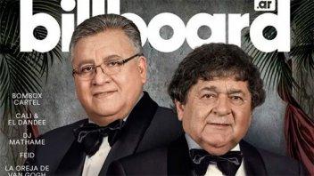 Los Palmeras es la primera banda de cumbia en llegar a la tapa de Billboard
