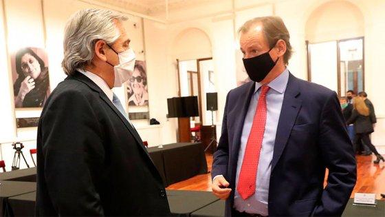 Bordet y Fernández firmaron acuerdo para construir viviendas y generar empleo