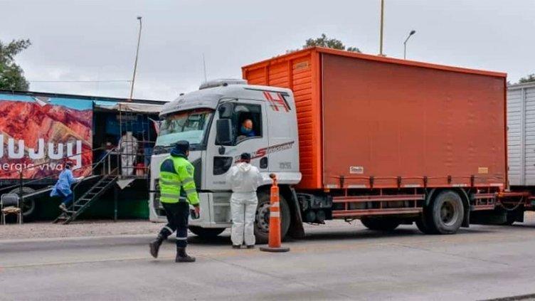 Cambian el control a camiones en Jujuy por transportista que pasó por Entre Ríos