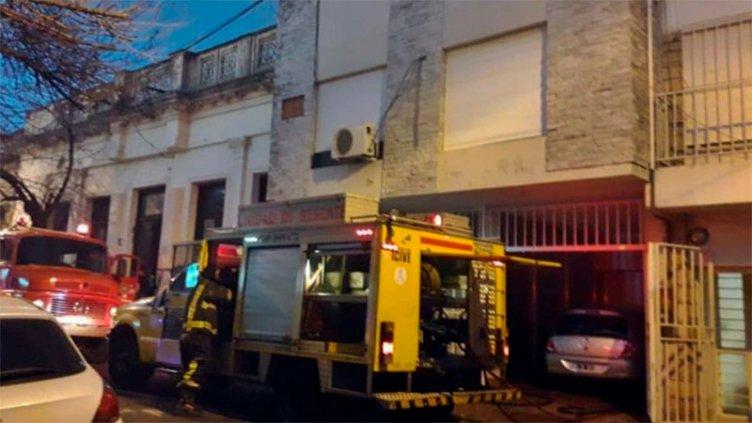 Fatal incendio en una vivienda de Concordia: Una mujer perdió la vida