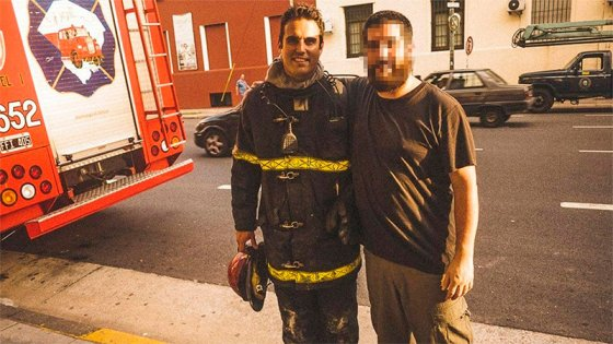 Trágica explosión: La historia del bombero que sobresalía por su solidaridad
