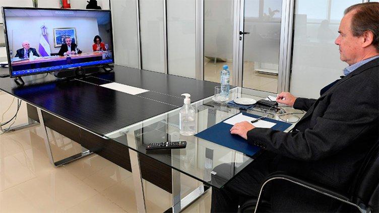 Coronavirus: Qué dijeron Fernández y los gobernadores en la videoconferencia