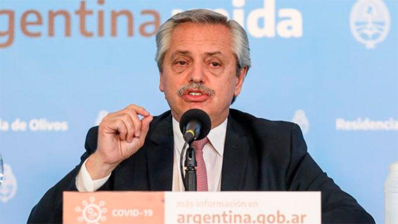 Fernández extendió aislamiento en zona de AMBA, Chaco, Córdoba y Trelew