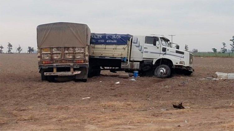Camionero entrerriano está grave tras accidente: Le practicaron un hisopado