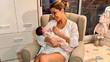 Virginia Gallardo se refirió a los cambios de su figura durante el embarazo