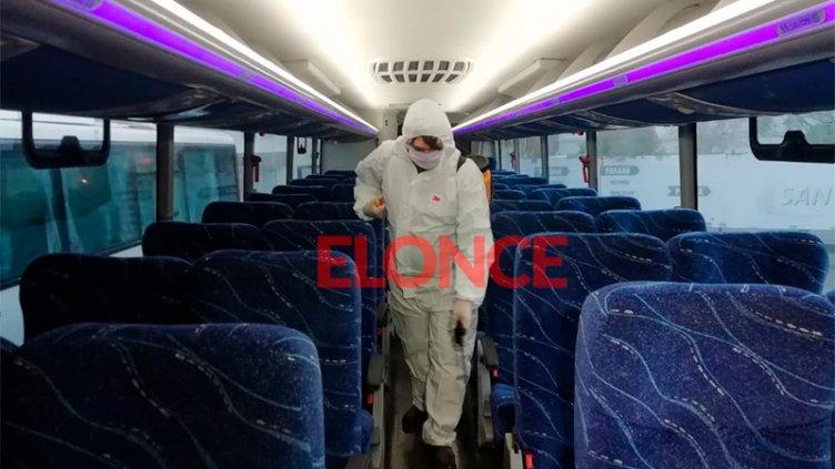 Transporte interurbano: El aumento de contagios retrasa la vuelta del servicio