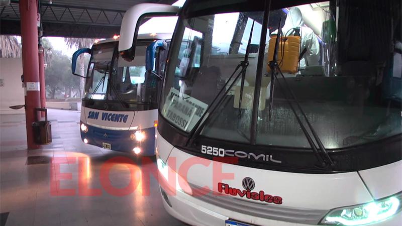 A partir del martes vuelve a funcionar el transporte interurbano en Entre Ríos