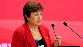Georgieva instó a mantener las ayudas hasta que se recupere la economía
