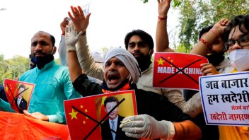 China e India iniciaron un diálogo para intentar reducir tensiones
