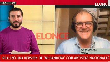 Día de la Bandera: La canción de Rubén Giménez con Patricia Sosa y Los Tekis